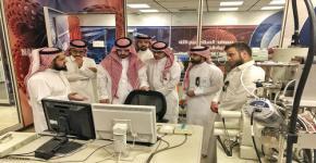 معهد النانو يستقبل وفد من معرض مشكاة التابع لمدينة الملك عبدالله للطاقة الذرية والمتجددة