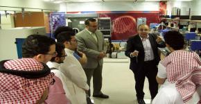 معهد الملك عبد الله لتقنية النانو يقدم دورة تدريبية لطلاب الأحياء الدقيقة بكلية العلوم