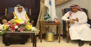 Minister of Education Azzam Al-Dakhil Inspects KSU Projects