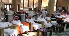 نيابة عن معالي مدير الجامعة .. أ.د. النمي يفتتح اليوم العالمي للمعلم