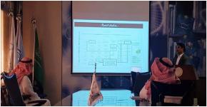 محاضرة عن الأداء العالي لأجهزة القياسات في معهد الملك عبدالله لتقنية النانو