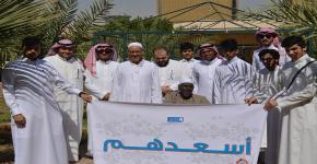 ضمن فعاليات برنامج أيام المجتمع: طلاب كلية المجتمع في زيارة إلى  دار المسنين
