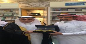 مشاركة مميزة للجامعة بمعرض الرياض للكتاب2015