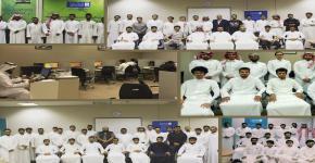 40 دورة تدريبية أستفاد منها 880 طالب نفذها مركز الحاسب وتنمية المهارات للتدريب