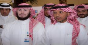 نيابة عن معالي مدير الجامعة.. أ.د. النمي يدشن معرض (مساري لمستقبل أفضل)