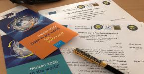 مشاركة عمادة البحث العلمي في ورشة العمل التعريفية ببرنامج هورايزون 2020