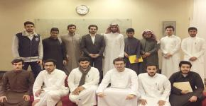 نادي الهندسة الصناعية يستضيف المهندس إبراهيم التميمي للاستفادة من تجربته العلمية، وخبرته العملية