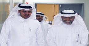 زيارة سعادة وكيل الجامعة للشؤون التعليمية والأكاديمية لمعهد اللغويات العربية