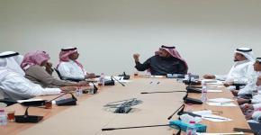 وفد من جامعة الملك سعود يزور وزارة البيئة والمياه والزراعة