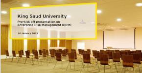 إنشاء إدارة المخاطر