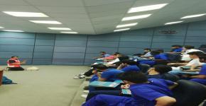دورة تدريبية بالتعاون مع الهلال الأحمر السعودي