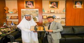 وكيل جامعة الملك سعود يستقبل القائم بالأعمال لسفارة المجر بالرياض
