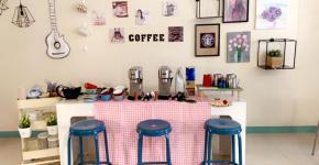 ورشة عمل فن الرسم على القهوة