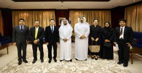 زيارة القائم بالأعمال ورئيس البعثة لسفارة مملكة تايلاند بالرياض