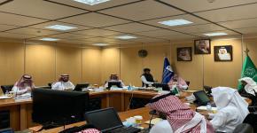 عقد الاجتماع الأول للجنة القبول الإلكتروني الموحد للطلاب والطالبات في الجامعات الحكومية والكليات التقنية بمنطقة الرياض للعام الجامعي 1442هـ