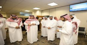 معالي الدكتور حاتم بن حسن المرزوقي نائب وزير التعليم للجامعات والبحث والابتكاريتفقد سير العمل عن بعد
