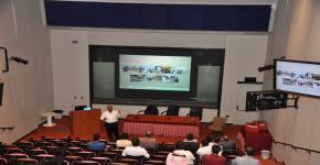 محاضرة علمية من شركة هيلتي لطلاب الهندسة