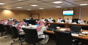 الاجتماعات الأولى للجنة القبول الإلكتروني الموحد للطلاب و الطالبات بمنطقة الرياض