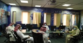 معهد الملك عبدالله لتقنية النانو يستقبل وفد مركز الملك سلمان لابحاث الاعاقة بالرياض