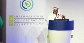 معهد الملك عبدالله لتقنية النانو يشارك في مؤتمر التعاون الدولي في البحث والتطوير بوزارة التعليم