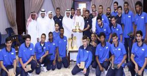 KSU Rector Honors Champions of Saudi Universities Sports Federation