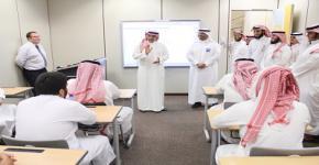 Rector Badran Al-Omar Visits Preparatory Year