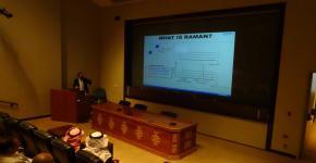 معهد النانو يقيم ورشة عمل بعنوان (تقنية مطيافية رامان) بالتعاون مع الشركة العلمية الوطنية
