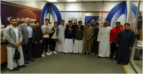معهد الملك عبدالله لتقنية النانو يستقبل طلاب متوسطة الرواد الأهلية للبنين بالرياض