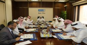 مجلس وكالة الجامعة للتخطيط والتطوير يتابع الخطط التشغيلية