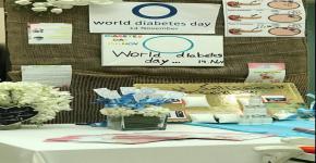 كلية العلوم تشارك في اليوم العالمي للسكري بركن توعوي وفعالية في مدارس ابن خلدون العالمية