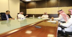 المكتب التنفيذي بالخطة الاستراتيجية للجامعة يبحث إعداد خطة إدارة المتابعة