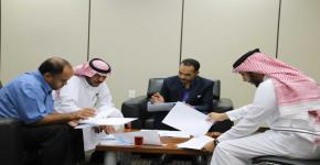 التطوير والجودة تتابع تحديث الخطة الاستراتيجية لمعهد اللغويات العربية
