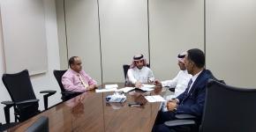 المكتب التنفيذي يبحث آليات تنفيذ الخطة الاستراتيجية لمعهد اللغويات العربية