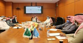 (التطوير والجودة) تستقبل وفد الهيئة السعودية للمواصفات والمقاييس والجودة