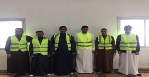 """طلاب الأولى المشتركة يقيمون مبادرة  """" أصدقاء المسجد """""""