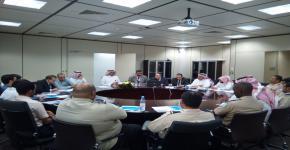 عقد اللقاء السنوي مع منسوبي وحدة الأمن والسلامة في التحضيرية