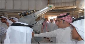 ثانوية المبرز بمحافظة الاحساء في زيارة لكلية العلوم