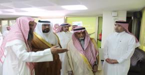 أعضاء من مجلس الشورى يزورون كلية المجتمع بجامعة الملك سعود