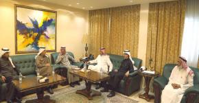 العمادة تزور وزارة البيئة والمياه والزراعة وتقف على برنامج الملك سلمان لتنمية الموارد البشرية