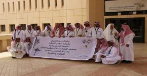 معهد الملك عبد الله لتقنية النانو يستقبل وفد النادي العلمي بجامعة الطائف