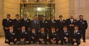 KSU Outstanding Students Visit France