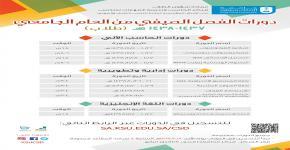 دورات طلابية في صيف 1438هـ بمركز الحاسب