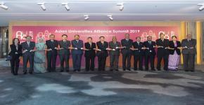 حضور وفد جامعة الملك سعود القمة السنوية الثالثة لإتحاد الجامعات الآسيوية في جامعة هونج كونج بدولة الصين الشعبية