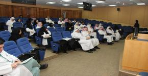 تدريب المدربين لبرنامج ماجستير التعليم الطبي بكلية الطب