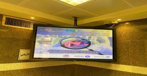 كلية المجتمع تنشر رسائل توعوية للحملة الخليجية في أرجاء الجامعة