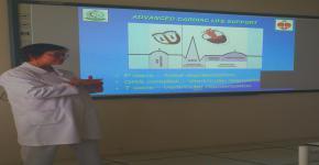 دورة عن قراءة الصورة البيانية لكهربائية القلب بكلية التمريض