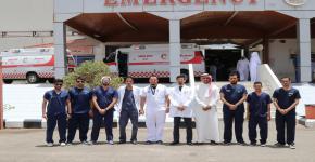 نادي التمريض في ضيافة جامعة طيبة