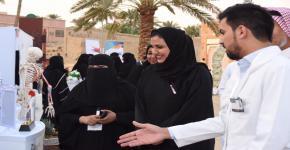 فعالية صحتي بيدي تشهد حضور كثيف من زوار البجيري