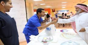 كلية التمريض تقيم حملة توعوية عن فايروس كورونا