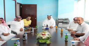 وحدة البحوث تبدأ أعمالها في مقر كلية المجتمع بجامعة الملك سعود